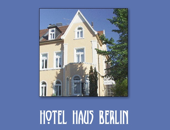 hotel haus berlin in bonn bad godesberg infos g nstig buchen. Black Bedroom Furniture Sets. Home Design Ideas