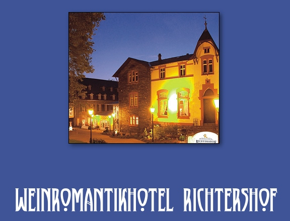 weinromantikhotel richtershof in m hlheim an der mosel infos g nstig buchen. Black Bedroom Furniture Sets. Home Design Ideas